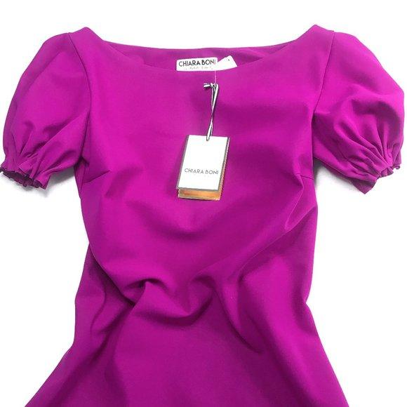 Chiara Boni La Petite Robe Dresses New Auc Fuchsia Dress Poshmark